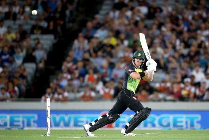 D'Arcy Short 50 New Zealand Australia T20 tri-series final Auckland cricket