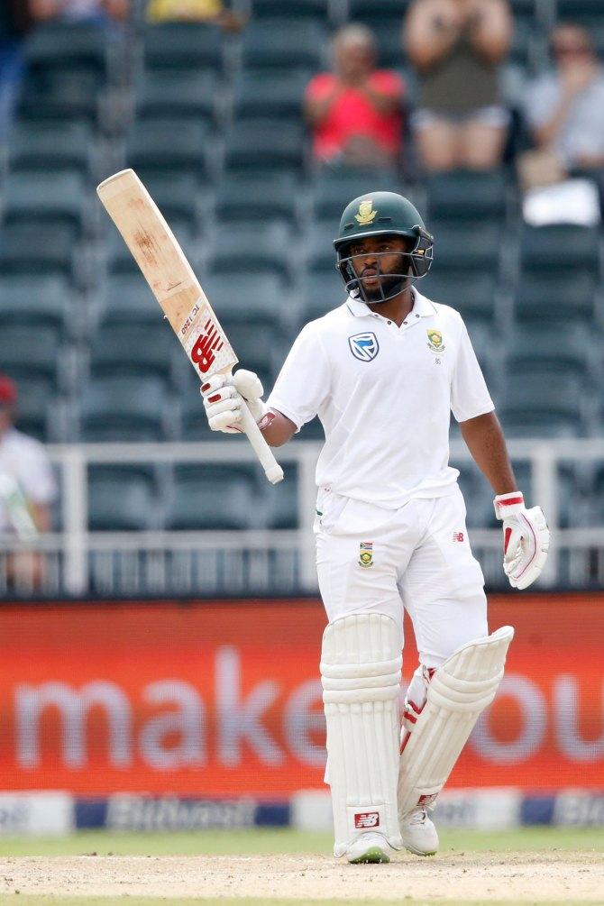 Temba Bavuma 95 not out South Africa Australia 4th Test Day 2 Johannesburg cricket