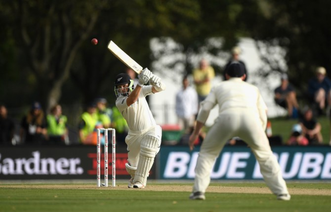 BJ Watling 77 New Zealand England 2nd Test Day 2 Christchurch cricket