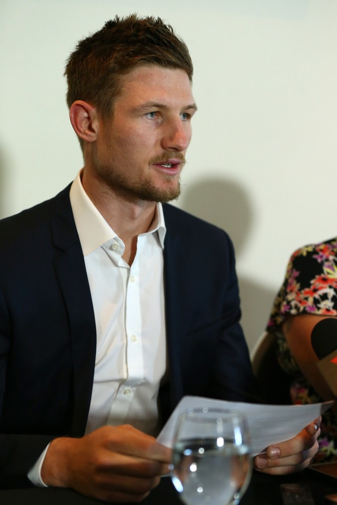 Cameron Bancroft apologises ball tampering scandal Australia South Africa cricket