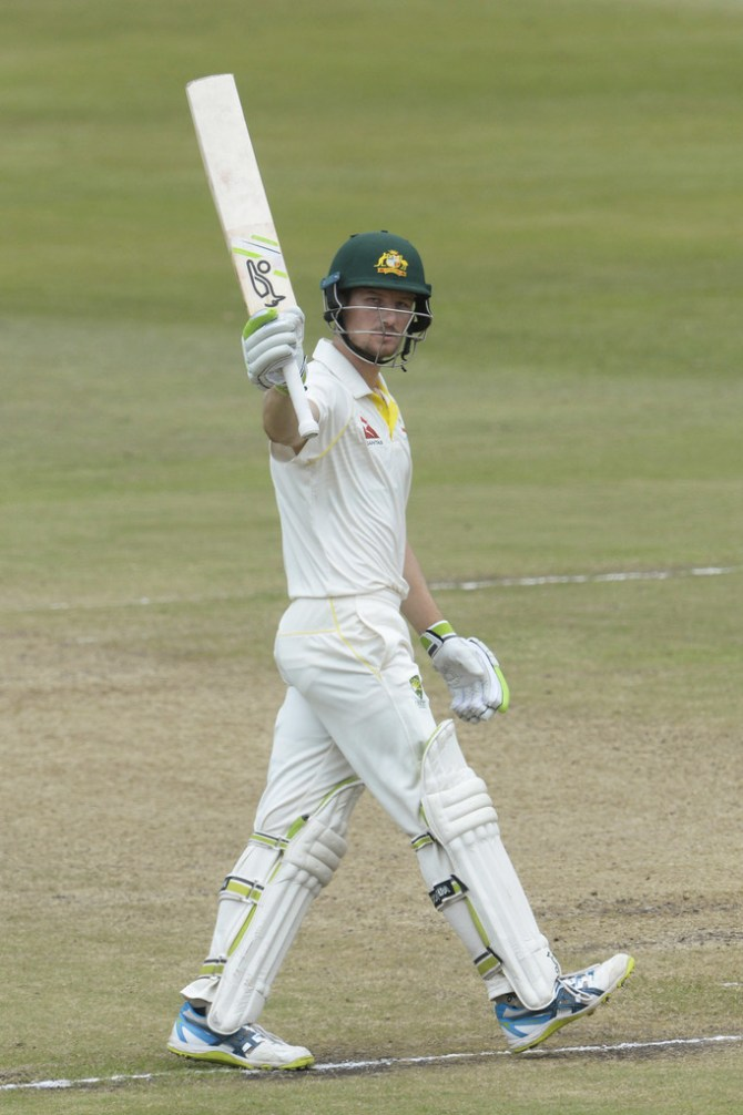 Cameron Bancroft 53 South Africa Australia 1st Test Day 3 Durban cricket