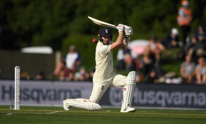 Mark Wood 52 New Zealand England 2nd Test Day 1 Christchurch cricket