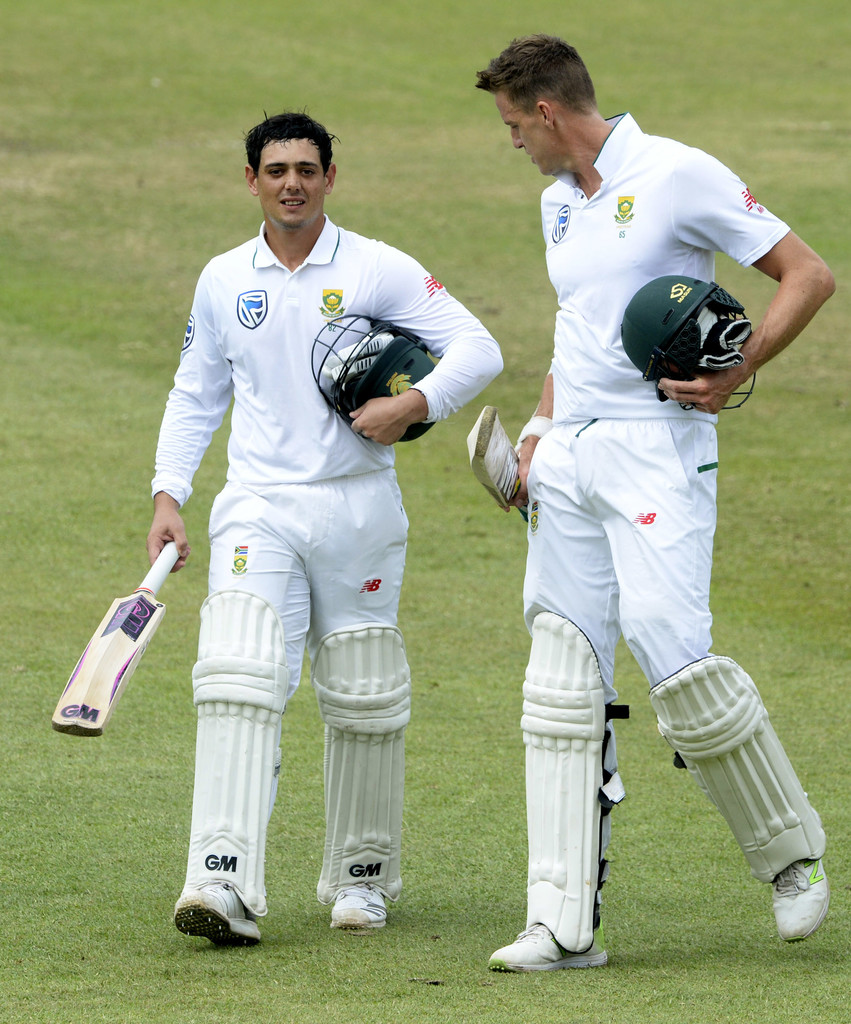 Warner, de Kock first Test 'fight' under investigation
