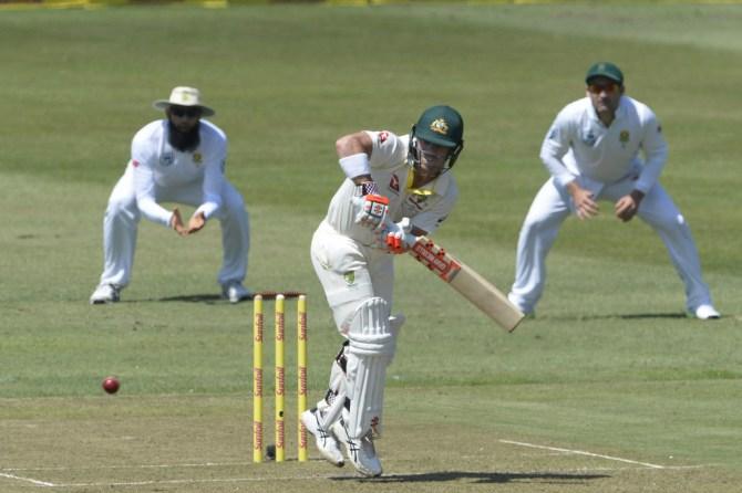 David Warner 51 South Africa Australia 1st Test Day 1 Durban cricket