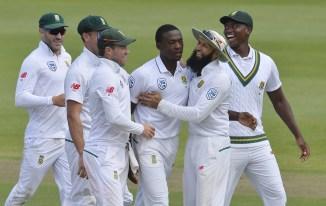Kagiso Rabada five wickets South Africa Australia 2nd Test Day 1 Port Elizabeth cricket
