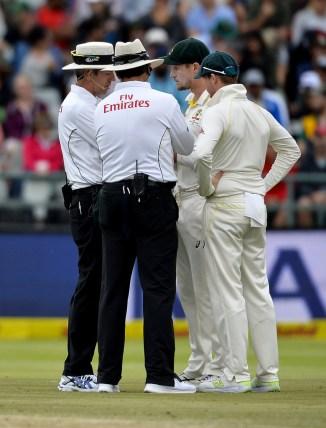 Ravichandran Ashwin Cameron Bancroft Steve Smith ball tampering South Africa Australia 3rd Test Day 3 Cape Town cricket