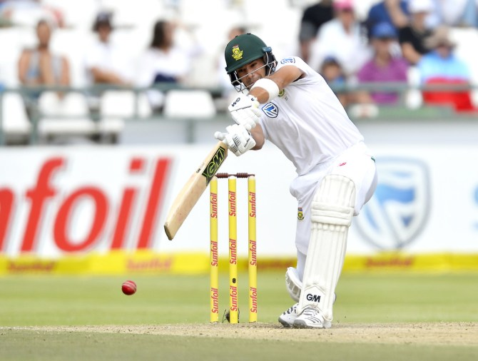 Aiden Markram 84 South Africa Australia 3rd Test Day 3 Cape Town cricket