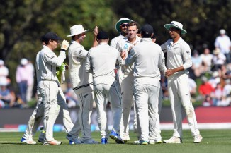 Tim Southee five wickets New Zealand England 2nd Test Day 1 Christchurch cricket