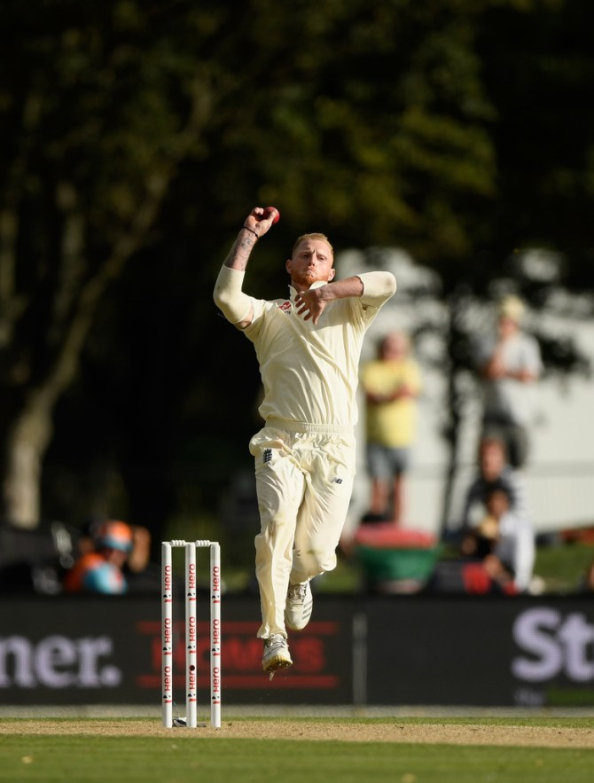 Ben Stokes recovering back injury bowling England New Zealand Test series cricket