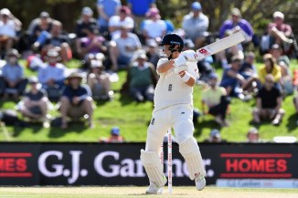Joe Root 54 New Zealand England 2nd Test Day 4 Christchurch cricket