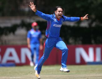 Rashid Khan included Afghanistan squad historic Test match India Bangalore cricket