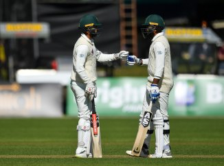Shadab Khan Faheem Ashraf 52 not out unbeaten 61 Pakistan Ireland Only Test Day 2 Dublin cricket