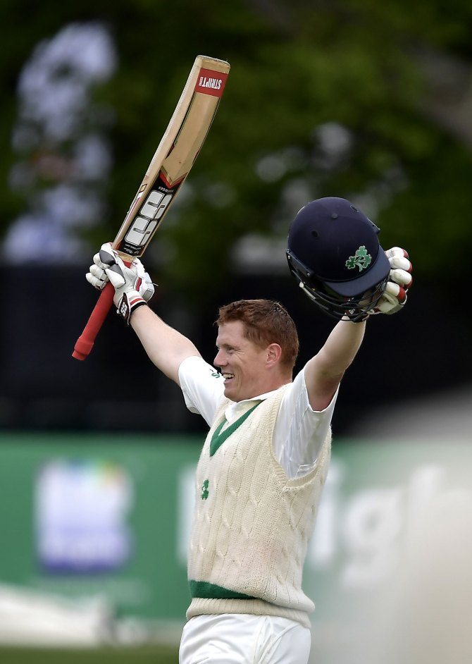 Kevin O'Brien 118 not out Ireland Pakistan Only Test Day 4 Dublin cricket