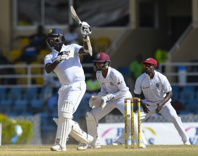 Angelo Mathews Lahiru Gamage miss rest West Indies tour personal reasons fractured finger Sri Lanka cricket