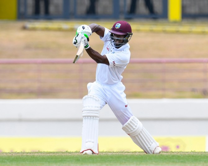 Devon Smith 53 not out West Indies Sri Lanka 2nd Test Day 2 St Lucia cricket