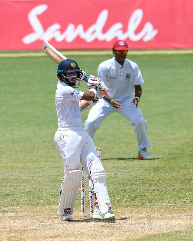Kusal Mendis 87 West Indies Sri Lanka 2nd Test Day 4 St Lucia cricket