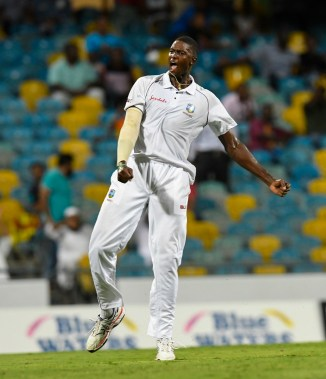 Jason Holder four wickets West Indies Sri Lanka 3rd Test Day 3 Barbados cricket