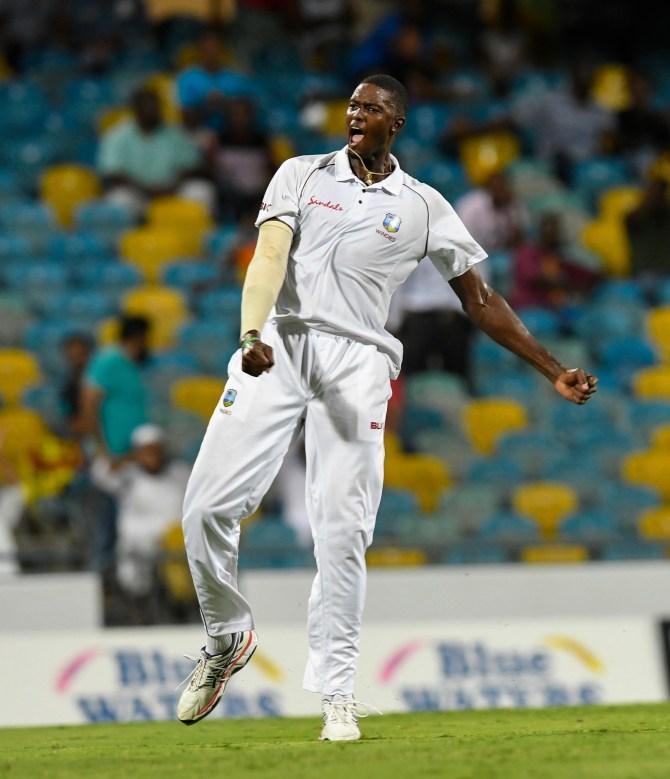 Jason Holder four wickets West Indies Sri Lanka 3rd Test Day 3 Barbados cricket