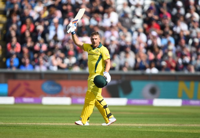 Aaron Finch 100 England Australia 4th ODI Durham cricket