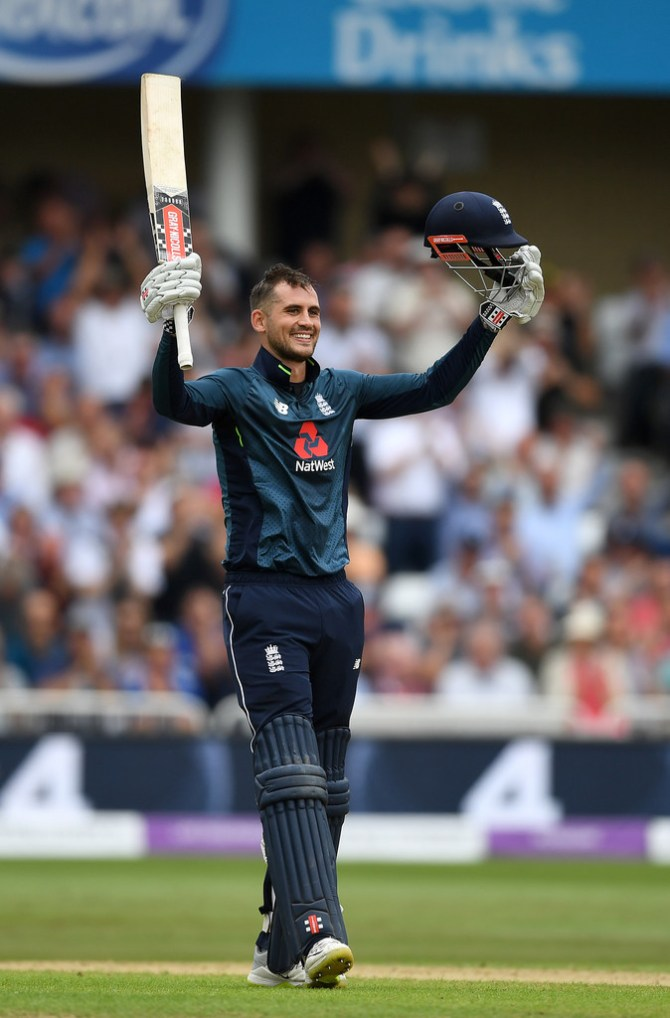Alex Hales 147 England Australia 3rd ODI Nottingham cricket