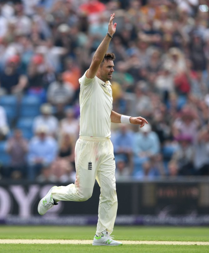James Anderson out of action for six weeks shoulder injury England cricket