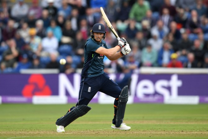 Jos Buttler 91 not out England Australia 2nd ODI Cardiff cricket