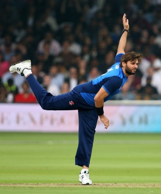 Shahid Afridi donate $20,000 dollar Hurricane Relief T20 Challenge ICC World XI West Indies Caribbean cricket