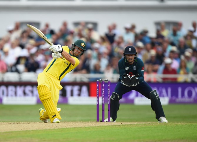 Travis Head 51 England Australia 3rd ODI Nottingham cricket