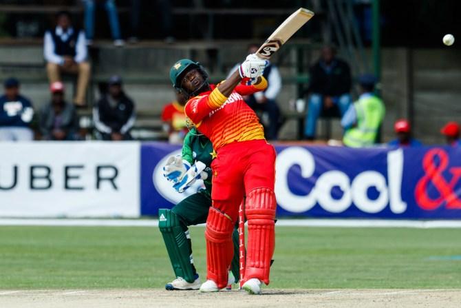 Solomon Mire 94 Zimbabwe Pakistan T20 tri-series 4th Match Harare cricket