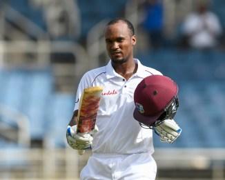 Kraigg Brathwaite 110 West Indies Bangladesh 2nd Test Day 1 Jamaica cricket