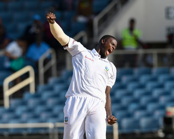 Jason Holder five wickets West Indies Bangladesh 2nd Test Day 2 Jamaica cricket
