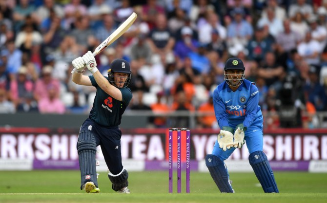 Eoin Morgan 88 not out England India 3rd ODI Headingley cricket