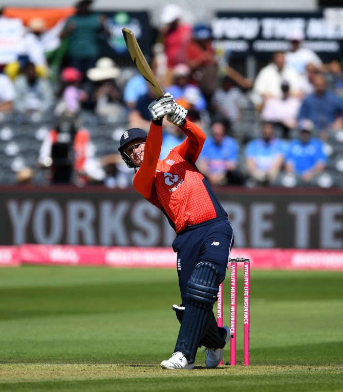 Jason Roy 67 England India 3rd T20 Bristol cricket