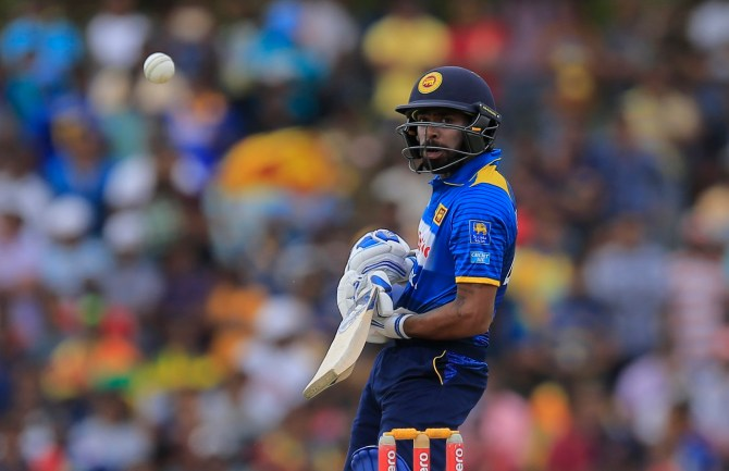 Niroshan Dickwella 69 Sri Lanka South Africa 2nd ODI Dambulla cricket
