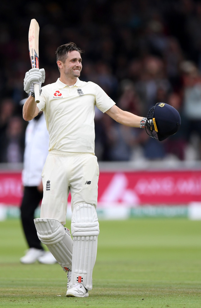 Chris Woakes 120 not out England India 2nd Test Day 3 Lord's cricket