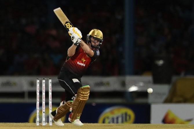 Colin Munro 68 Trinbago Knight Riders St Lucia Stars CPL 2018 1st Match cricket