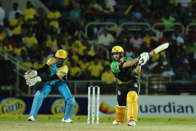 Glenn Phillips 58 Jamaica Tallawahs St Lucia Stars Caribbean Premier League CPL cricket
