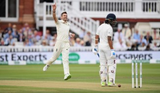 James Anderson five wickets England India 2nd Test Day 2 Lord's cricket