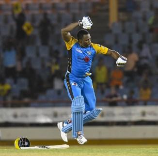 Kieron Pollard 104 St Lucia Stars Barbados Tridents Caribbean Premier League CPL cricket