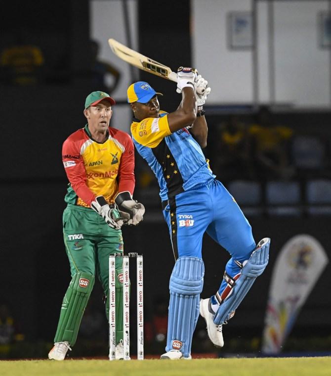 Kieron Pollard 41 not out St Lucia Stars Guyana Amazon Warriors Caribbean Premier League CPL cricket
