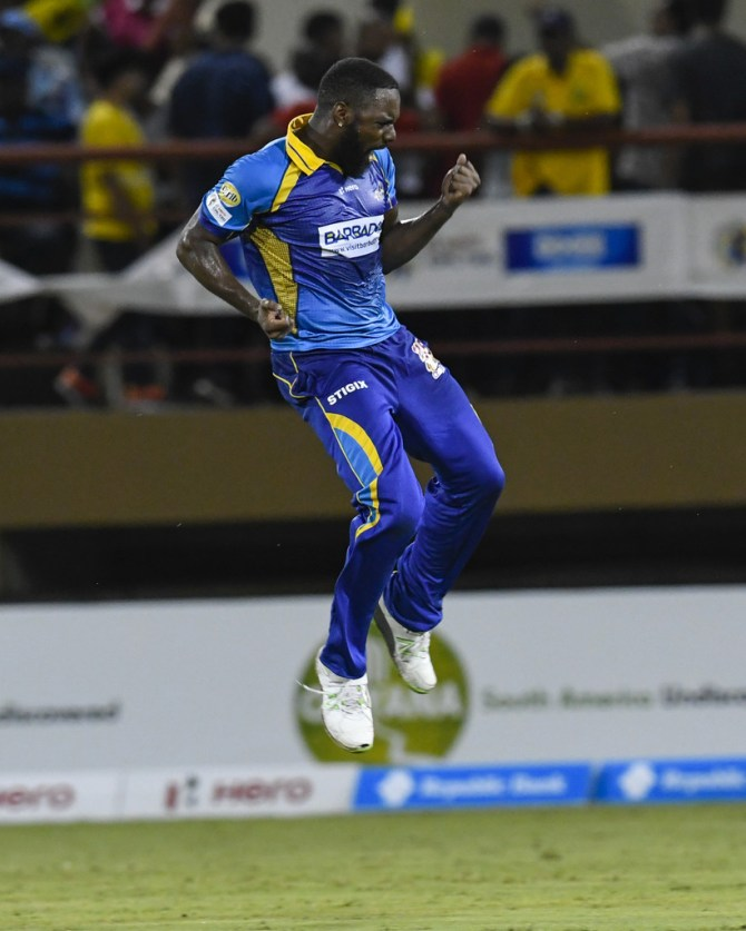 Raymon Reifer five wickets Barbados Tridents Guyana Amazon Warriors Caribbean Premier League CPL cricket