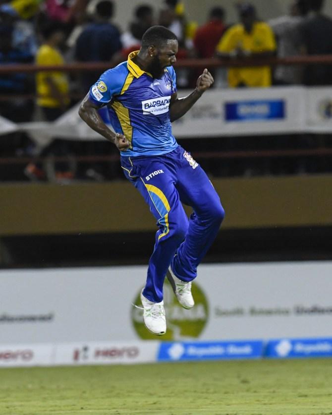 Raymon Reifer five wickets Barbados Tridents Guyana Amazon Warriors Caribbean Premier League CPL cricket