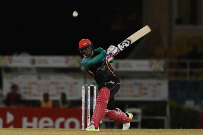 Devon Thomas 58 St Kitts and Nevis Patriots Trinbago Knight Riders Caribbean Premier League CPL cricket