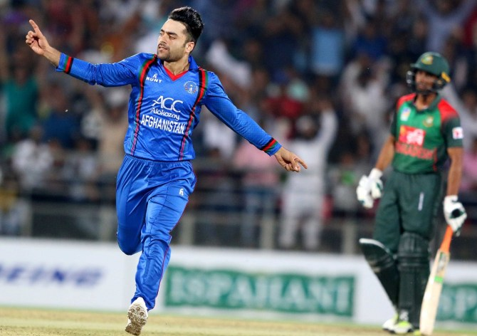 Rashid Khan included Asia Cup squad Afghanistan cricket