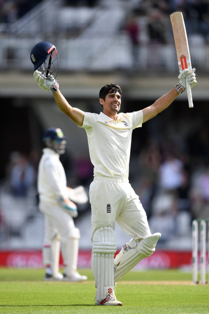 Alastair Cook 147 England India 5th Test Day 4 The Oval cricket