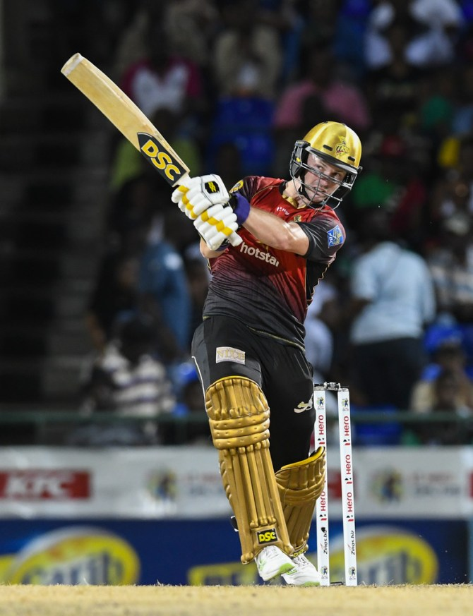 Colin Munro 76 Trinbago Knight Riders St Kitts and Nevis Patriots Caribbean Premier League CPL cricket
