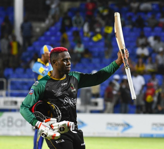 Fabian Allen 64 not out St Kitts and Nevis Patriots Barbados Tridents Caribbean Premier League CPL cricket