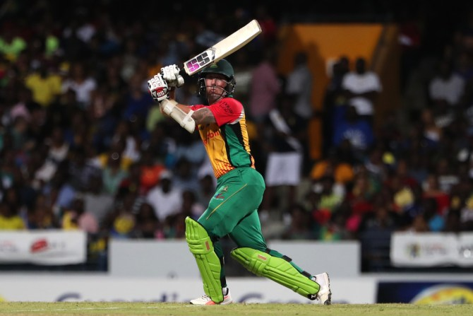 Luke Ronchi 67 Guyana Amazon Warriors Barbados Tridents Caribbean Premier League CPL cricket