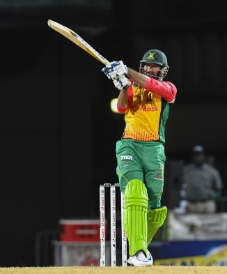 Sohail Tanvir 37 not out Guyana Amazon Warriors St Kitts and Nevis Patriots Caribbean Premier League CPL cricket