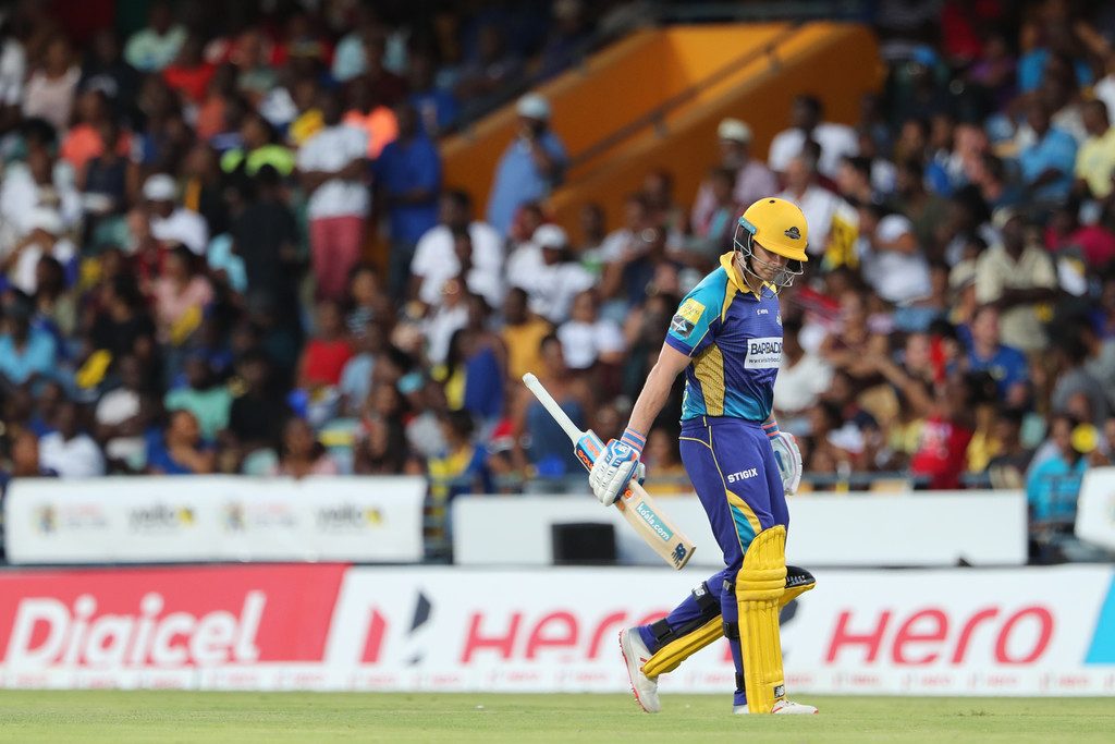 c1d6d1371507f Steve Smith ruled out remainder Caribbean Premier League CPL side strain  Barbados Tridents cricket